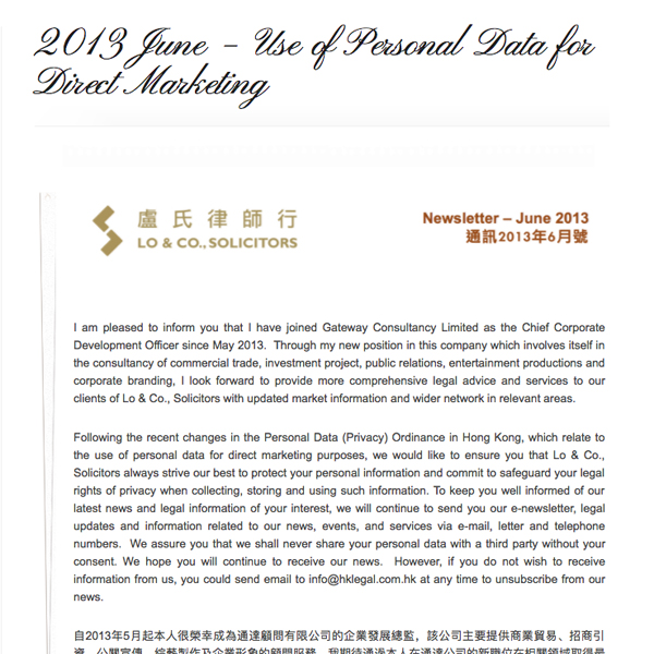Newsletter 2013 June